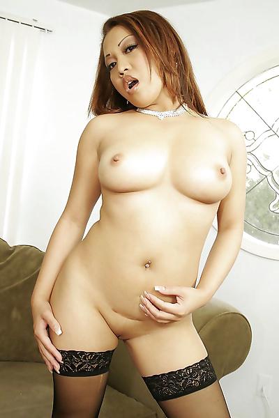 Naughty asian chick likes..