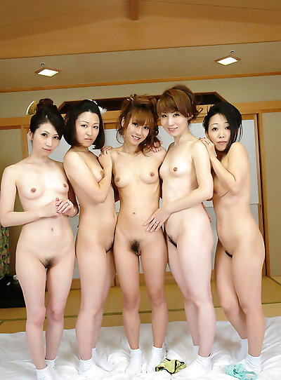 Hot japanese av girls in..