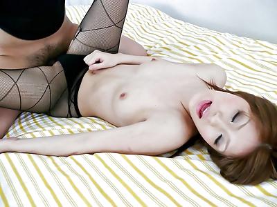 Japanese cumshot creampie -..