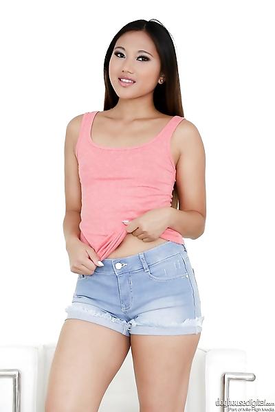 Sweet Asian teenage girl..