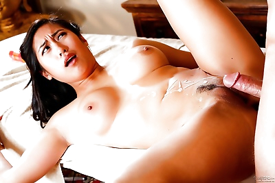 Busty Asian female Mia Li..