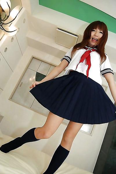 Lovely asian cutie Megumi..