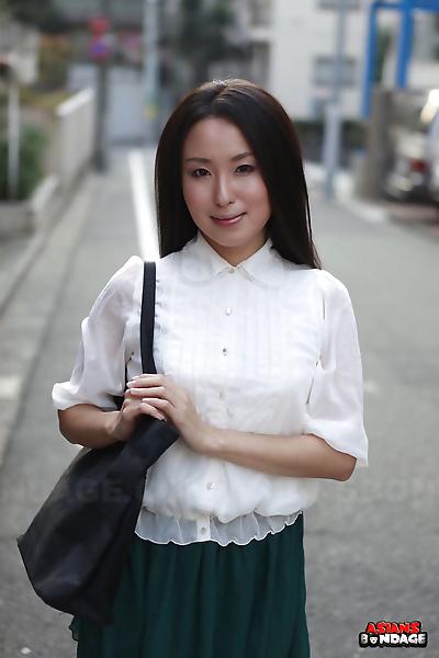 Japanese schoolgirl Anna..