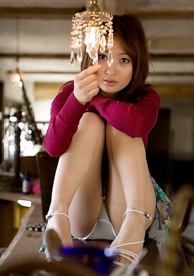 Japanese teen Maiko Kazano..