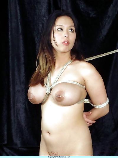 Chubby Asian girl with big..
