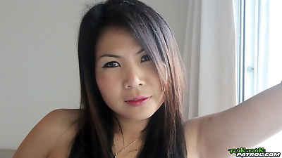 Thai female with nice legs..