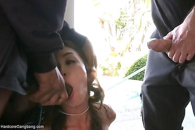 Hardcore student gangbang double penetration rough sex squirting human bondage - part 4776