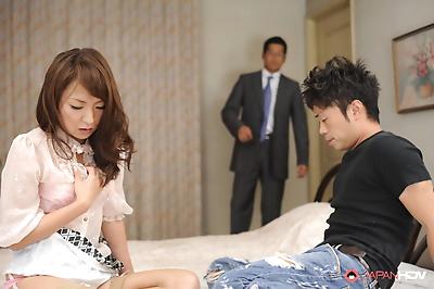 Erika hiramatsu in a hot threesome - part 2650