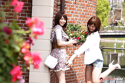 Rimu endo and ueno misaki show off - part 2030